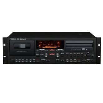 TASCAM Tascam CC-222MKIV/CC-222MK4 Professional CD recorder and cassette deck