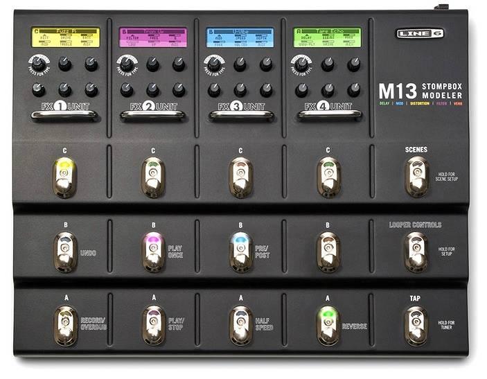 【ポイント2倍】【送料込】LINE6/ラインシックス M13 Stompbox Modeler【smtb-TK】