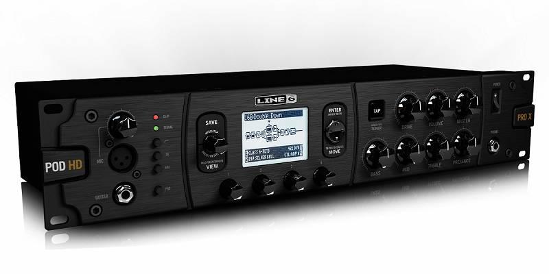 【ポイント2倍】【送料込】LINE6/ラインシックス POD HD Pro X ラックマウント マルチエフェクター/アンプモデラー【smtb-TK】