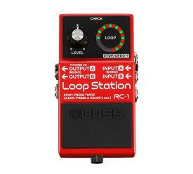"""【ポイント10倍】【送料込】BOSS/ボス RC-1/Loop Station もう迷わせない。""""ルーパー""""はじめるならBOSS【smtb-TK】"""