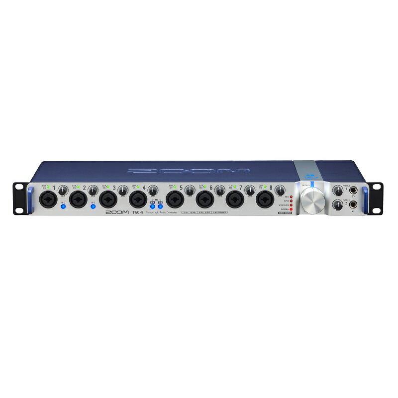 【ポイント10倍】【送料込】ZOOM/ズーム TAC-8 18イン/20アウト Thunderbolt専用DAC 24bit/192kHz【smtb-TK】