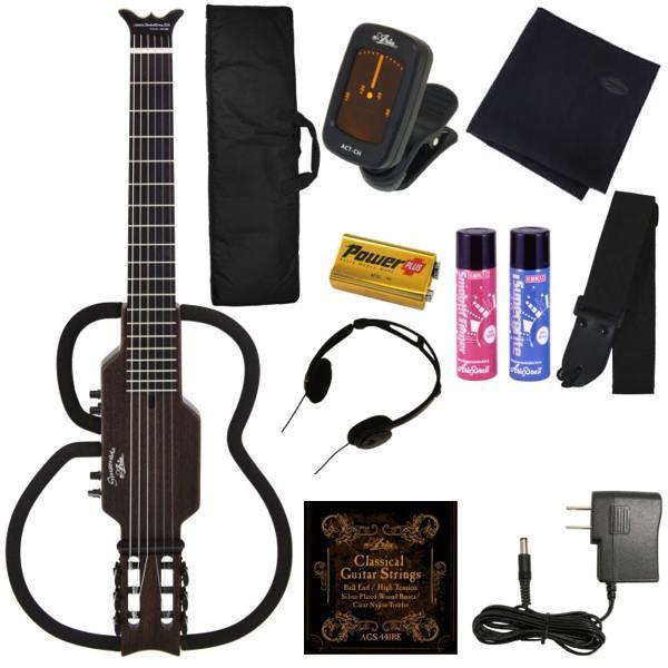 【ポイント2倍】【送料込】【豪華11点セット】ARIA/アリア AS-109C/SBK シンソニード ナイロン弦 サイレントギター ガットギター クラシックギター【smtb-TK】