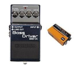【ポイント8倍】【送料込】【9V電池DURACELL PROCELL 006P付】BOSS/ボス BB-1X Bass Driver ベースドライバー【smtb-TK】