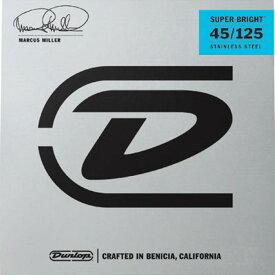 【ポイント2倍】【メール便・送料無料・代引不可】【1セット】Dunlop/ダンロップ DBMMS45125 Marcus Miller シグネイチャー 5弦ベース弦【smtb-TK】