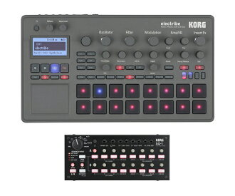 The Korg electribe 2 / KORG sq-1 set +