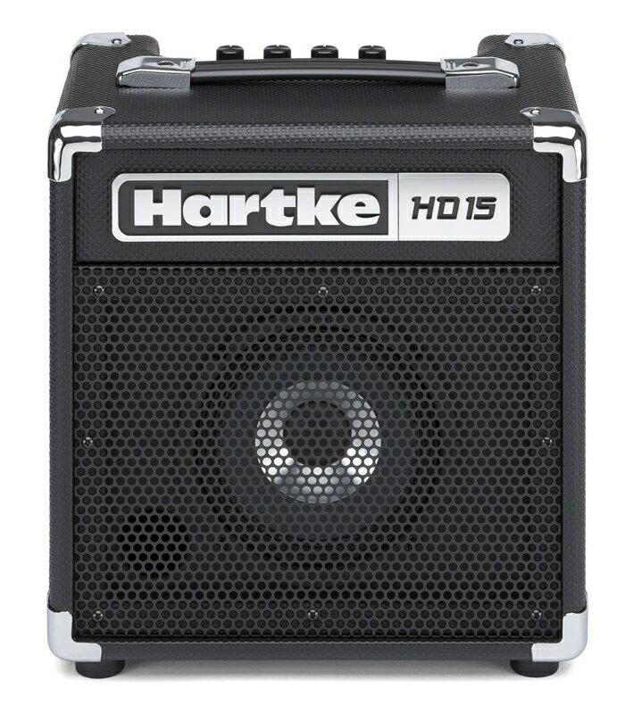 【ポイント2倍】【送料込】【数量限定特価】Hartke ハートキー HD15 6.5インチHyDriveスピーカー搭載 ベースアンプ コンボアンプ【smtb-TK】