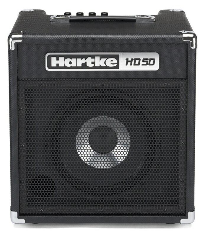 【ポイント2倍】【送料込】【数量限定特価】Hartke ハートキー HD50 10インチHyDriveスピーカー搭載 ベースアンプ コンボアンプ【smtb-TK】