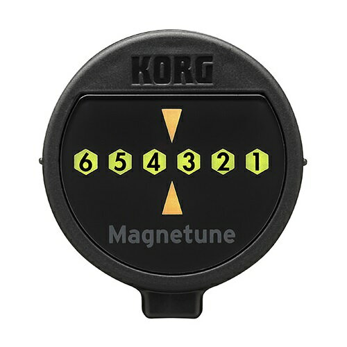 【ポイント2倍】【メール便・送料無料・代引不可】【数量限定特価】KORG コルグ KORG/コルグ MG-1 Magnetune マグネット ギターチューナー【smtb-TK】