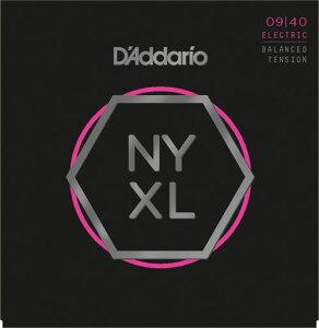 【ポイント2倍】【メール便・送料無料・代引不可】【10セット】D'Addario/ダダリオ NYXL0940BT NYXLエレキギター弦【smtb-TK】