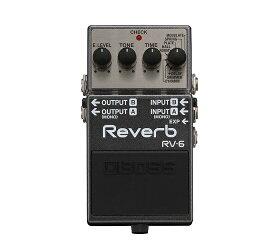 【ポイント10倍】【送料込】BOSS/ボス RV-6 Reverb 高音質リバーブ・ペダル【smtb-TK】