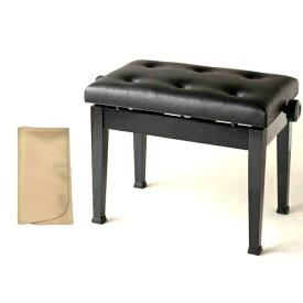 【お手入れクロスプレゼント!!】【ポイント2倍】【送料込】ITOMASA/イトマサ AE(ブラック) ピアノイス/ピアノ椅子 高低自在椅子【smtb-TK】
