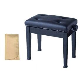 【お手入れクロスプレゼント!!】【ポイント2倍】【送料込】ITOMASA/イトマサ AS(ブラック) ピアノイス/ピアノ椅子 高低自在椅子【smtb-TK】