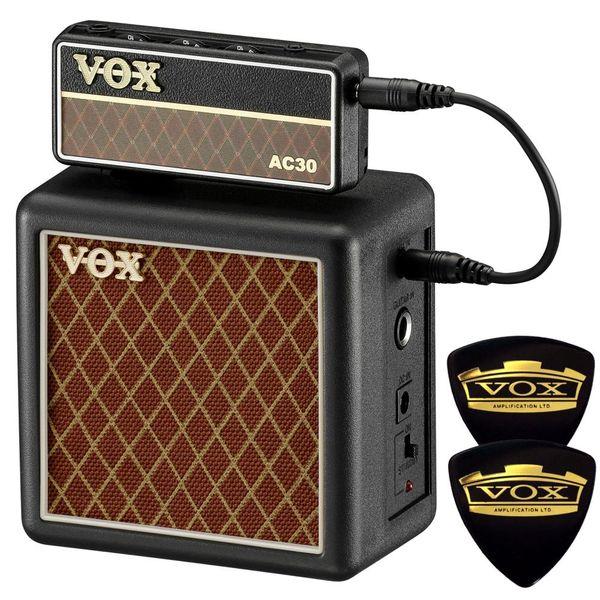 【ポイント2倍】【限定VOXピック2枚付】【送料込】VOX ヴォックス AP2-AC + AP2-CAB amPlug2 AC30 + 専用キャビネット/ミニアンプ【smtb-TK】
