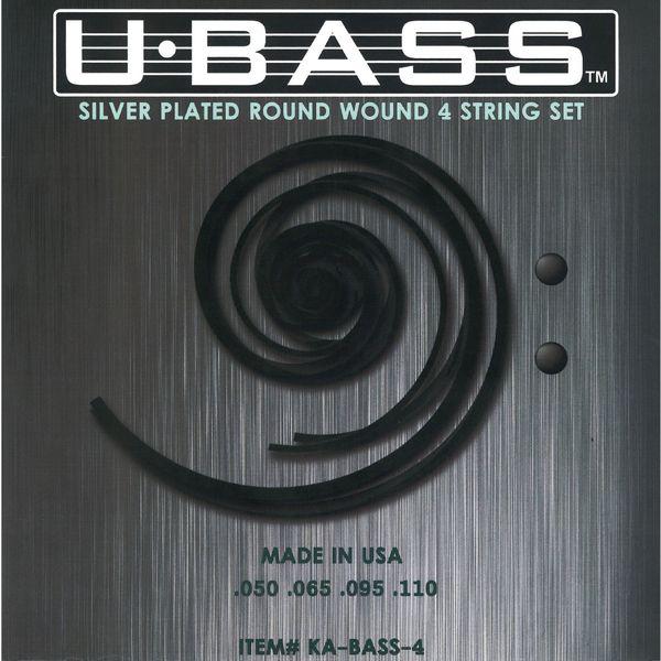 【メール便・送料無料・代引不可】KALA カラ KA-BASS4 U-BASS用 ラウンドワウンド ガット弦 ウクレレベース 弦【smtb-TK】