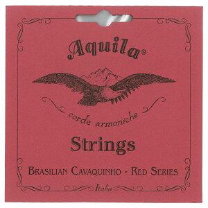 【ポイント2倍】【メール便・送料無料・代引不可】【1セット】Aquila アクイーラ AQ-CAV(15CH) RED SERIES カヴァキーニョ 弦 CAVAQUINHO【smtb-TK】