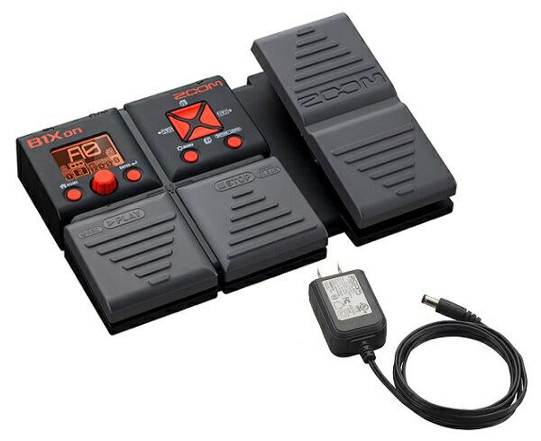 【限定ZOOMピック2枚付】【送料込】【純正ACアダプター付】ZOOM/ズーム B1Xon エフェクト、機能、サウンド、すべてが驚異的/ギグバッグのポケットに【smtb-TK】