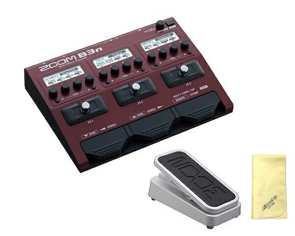 【限定ZOOMピック2枚付】【送料込】【愛曲クロス付】【エクスプレッションペダル/FP02M付】ZOOM ズーム B3n B3next Multi-Effects Processor for Bass【smtb-TK】