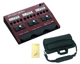 【ポイント2倍】【限定ZOOMピック2枚付】【送料込】【愛曲クロス付】【ギグケース/EFS30付】ZOOM ズーム B3n B3next Multi-Effects Processor for Bass【smtb-TK】