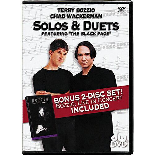 【ポイント2倍】【メール便・送料無料・代引不可】【処分特価】【英語版】DW-DVD Terry Bozzio and Chad Wackerman SOLO & DUETS DVD【smtb-TK】