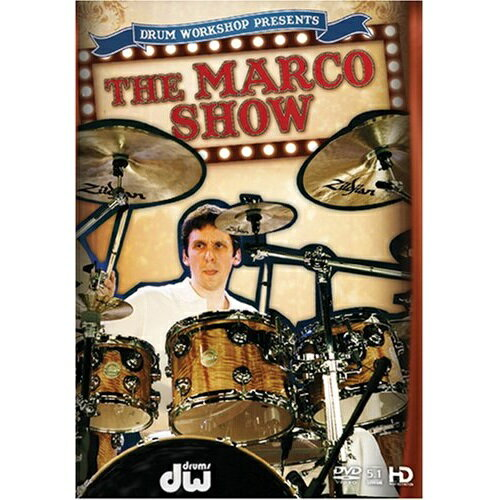 【ポイント2倍】【メール便・送料無料・代引不可】【処分特価】【英語版】DW-DVD Marco Minnemann THE MARCO SHOW DVD【smtb-TK】