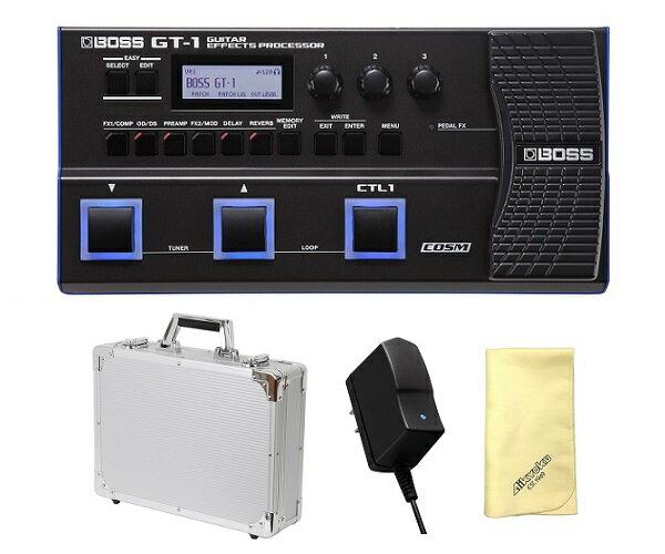 【ポイント2倍】【送料込】【愛曲クロス付】【純正ACアダプター/PSA-100S2+エフェクターケース/EC45SV付】BOSS ボス GT-1 Guitar Effects Processor マルチ・エフェクター【smtb-TK】
