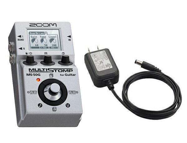 【限定ZOOMピック2枚付】【送料込】【ACアダプター/AD-16付】ZOOM/ズーム MULTI STOMP MS-50G for Guitar 驚異のマルチ・ストンプ【smtb-TK】