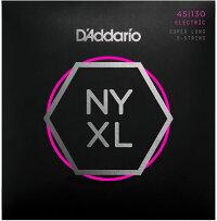 【メール便・送料無料・代引不可】【1セット】D'AddarioダダリオNYXL45130SL5弦ベース弦【smtb-TK】