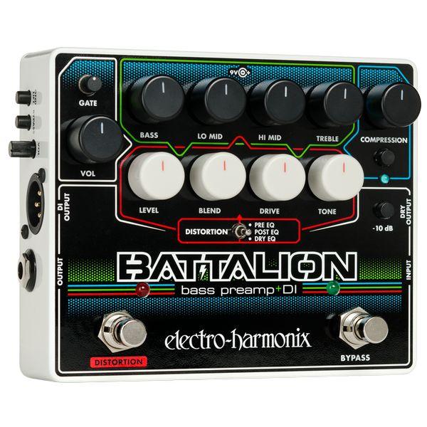 【ポイント2倍】【送料込】ELECTRO HARMONIX BATTALION Bass Preamp & DI ベースプリアンプ DI 【smtb-TK】