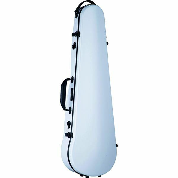 【ポイント10倍】【送料込】Carbon Mac CFV-2 WHT ホワイト バイオリン ケース カーボンマック スリム【smtb-TK】