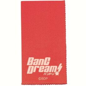【ポイント2倍】【メール便・送料無料・代引不可】ESP×バンドリ! BanG Dream! CL-8 BDP/Red 楽器用 クロス【smtb-TK】