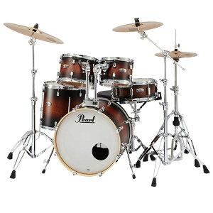 【ポイント5倍】【送料込】【SABIAN B8X シンバル】Pearl パール DMP905/C-DBX No.260 Satin Brown Burst DECADE Maple COMPACT ドラムセット 【smtb-TK】