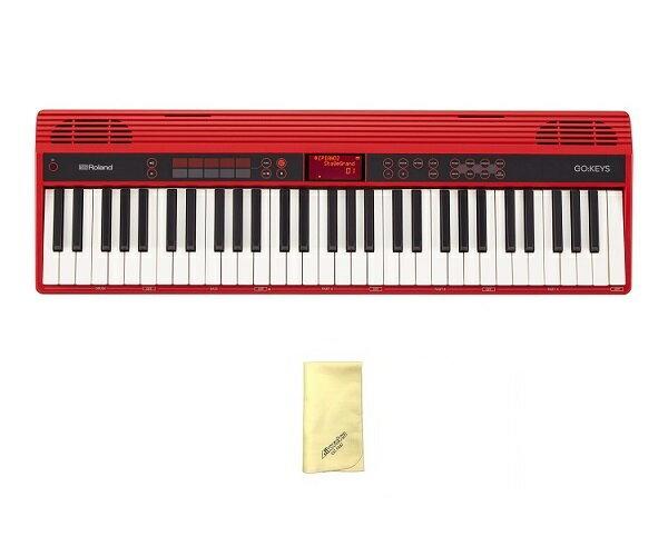 【ポイント10倍】【送料込】【愛曲クロス付】Roland ローランド GO:KEYS GO-61K Entry Keyboard 楽器経験がなくても楽しめる、初めてのキーボード【smtb-TK】