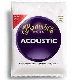 【ポイント2倍】【メール便・送料無料・代引不可】Martin/マーチン M140×3セット アコースティックギター弦【smtb-TK】