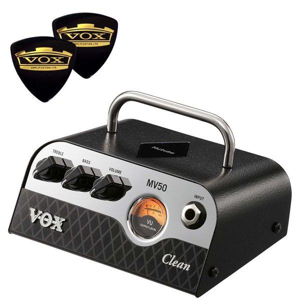 【送料込】【限定VOXピック2枚付】VOX ヴォックス MV50-CL Clean 新真空管 Nutube 搭載 アンプ・ヘッド【smtb-TK】