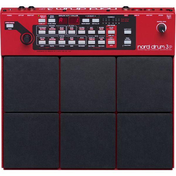 【ポイント10倍】【送料込】【正規輸入品】Clavia クラヴィア Nord Drum 3P 音源とパッド一体型ボディ ノード・ドラム/モデリング・パーカッション・シンセサイザー【smtb-TK】【在庫あり】