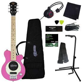 【ポイント2倍】【送料込】【豪華10点セット】Pignose/ピグノーズ PGG-200 PK Pink アンプ内蔵ギター【smtb-TK】