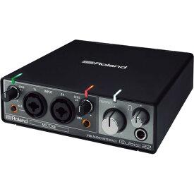 【ポイント7倍】【送料込】Roland ローランド Rubix22 USBオーディオ・インターフェース 2in/2out、最大24bit/192kHz対応【smtb-TK】