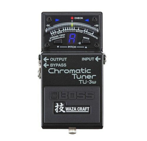 【ポイント10倍】【送料込】BOSS ボス TU-3W(J) Chromatic Tuner 技WAZA CRAFT【smtb-TK】