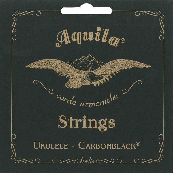 【ポイント2倍】【メール便・送料無料・代引不可】【1セット】Aquila アクイーラ AQC-SR(141U) Carbon Black ウクレレ弦 ソプラノ用【smtb-TK】