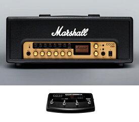 【限定Marshallピック2枚付】【送料込】【フットコントローラー/PEDL91009付】Marshall マーシャル CODE100H アンプヘッド 正規輸入品【smtb-TK】