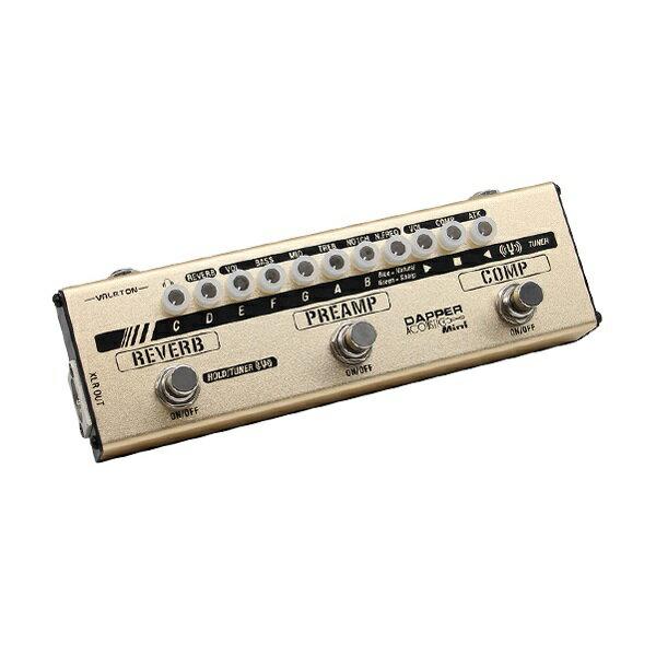 【ポイント2倍】【送料込】VALETON MES-4 Dapper Acoustic Mini アコースティックギター用 マルチエフェクター【smtb-TK】