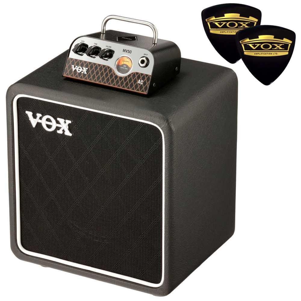 【送料込】【限定VOXピック2枚付】VOX ヴォックス MV50-AC / AC-30 + BC108 新真空管 Nutube 搭載 アンプ・ヘッド + キャビネット【smtb-TK】