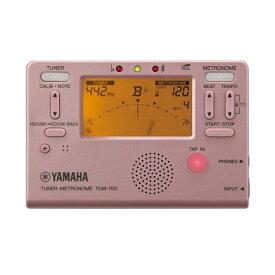 【ポイント2倍】【メール便・送料無料・代引不可】YAMAHA ヤマハ TDM-700P ピンク チューナー/メトロノーム【smtb-TK】