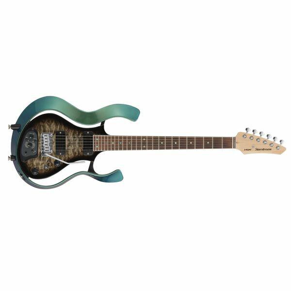 【送料込】VOX ヴォックス VSS-1-24MGBB-Q [BLACK BURST/QULTED MAPLE TOP] Starstream パッシブ・モード 搭載 モデリング・ギター 【smtb-TK】