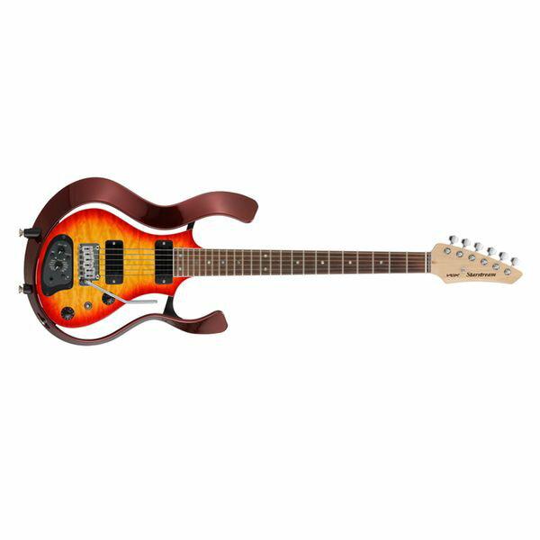 【ポイント2倍】【送料込】VOX ヴォックス VSS-1-24MWRCB-Q [CHERRY BURST/QULTED MAPLE TOP] Starstream パッシブ・モード 搭載 モデリング・ギター 【smtb-TK】