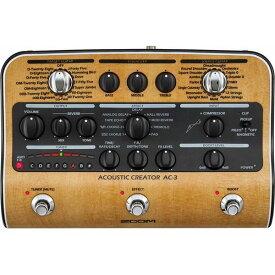 【ポイント6倍】【限定ZOOMピック2枚付】【送料込】【ACアダプター付属】ZOOM AC-3 Acoustic Creator【smtb-TK】