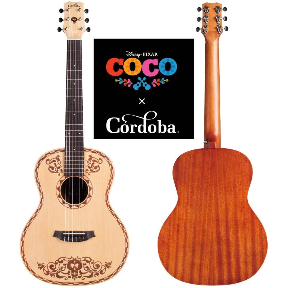【送料込】Cordoba コルドバ Coco Guitar ディズニー・ピクサー「リメンバー・ミー」 オフィシャル クラシックギター【smtb-TK】