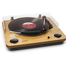 【ポイント2倍】【送料込】ION AUDIO MAX LP スピーカー搭載オールインワンUSB レコードプレーヤー ターンテーブル 【smtb-TK】