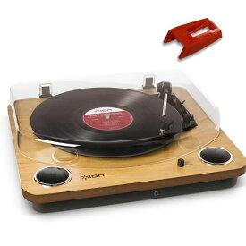 【ポイント2倍】【送料込】【純正交換針(1個)セット】ION AUDIO MAX LP スピーカー搭載オールインワンUSB レコードプレーヤー ターンテーブル 【smtb-TK】
