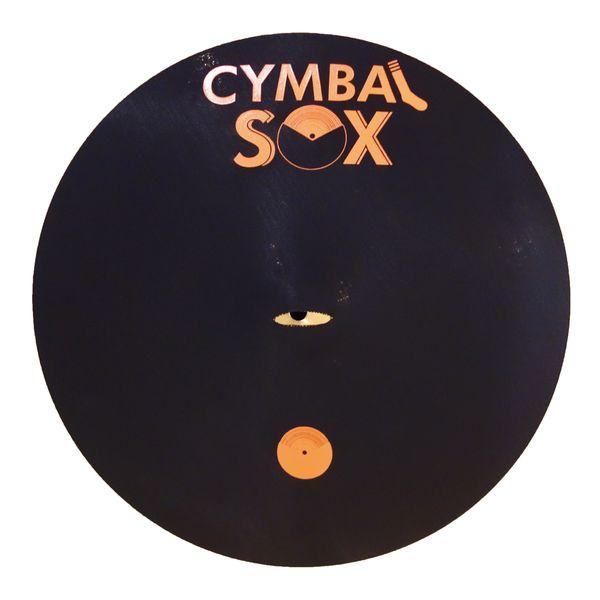 【ポイント2倍】【メール便・送料無料・代引不可】Cymbal Sox CX10 10インチ シンバルカバー シンバルを安全に保護【smtb-TK】